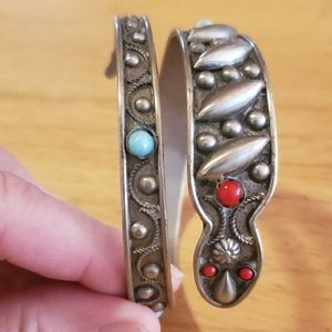Vintage ALP cuff Bracelet made in Italy